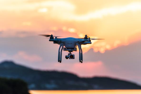 evening drones